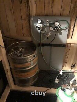 Full Bar Beer Pump Setup Cooler Font Gas Regulators Tap Coors Moretti Bud Light