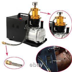 GEBRAUCHT 1800W Hochdruckluftpumpe Compressore Pumpe 300BAR 4500PSI 220V