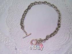 GORGEOUS GIFT GenuineTIFFANY & CoHeart Tag Necklace T-Bar Fastener