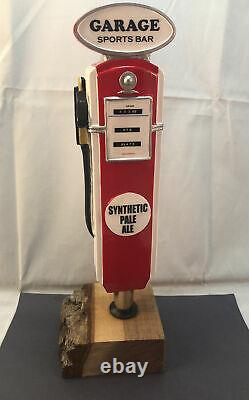 Garage Sports Bar Synthetic Pale Ale Beer Tap Handle Figural Gas Pump Tap Handle