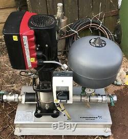 Grundfos Max-E Boost 5.0 Bar Pressure Booster Pump Set 240V #1664