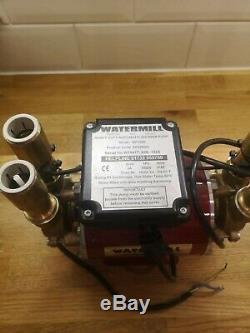 Grundfos Watermill 3 Bar Regenerative Brass Twin Impeller Shower Pump BP100D