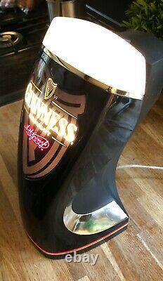 Guinness Bar Top Illuminated Pump Head Now re-wired to 240v