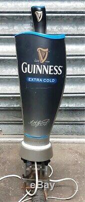 Guinness Extra Cold Pub Club Bar Man-Cave Font Tap Pump Handle Stout Dispenser