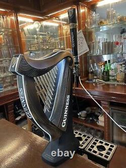 Guinness Harp Beer Bar, Pull Pump. Man cave, pub/ Light Up