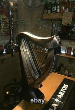Guinness Harp Beer pump Bar font