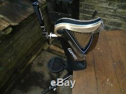 Guinness Harp bar font /beer pump with drip tray, home bar, mancave, pub