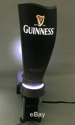 Guinness Surger Illuminated Bar Pump, Man Cave, Bar, Pub, Tested