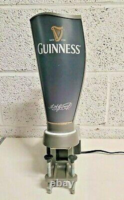 Guinness Surger beer pump mancave home bar home pub working