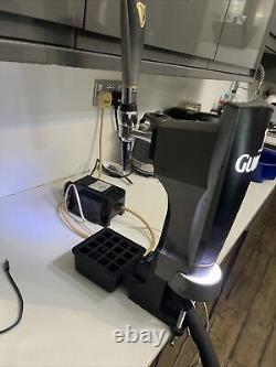 Guinness pump with transformer and drip tray pub bar mancave