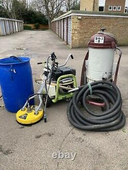 Gutter Cleaning & Jet Wash Business YanmarL100 Cat Pump 16lpm 207Bar Ind Hoover