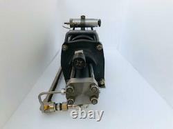 Haskel Agt-62/152h Air Driven Non-lubricated Two Stage Gas Booster 1724 Bar #1