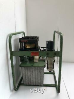 Haskel Hf-b300 Air Driven Fluid/ Liquid Pump 50,000 Psi Wp With 1600 Bar Gauge