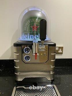 Heineken Blade Machine Beer Pump Draft Draught Home Bar Kegerator Used
