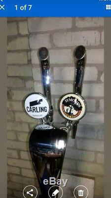 Home Diy Bar Beer Set Up. Beer Pumps Cooler Etc. Easy Fit