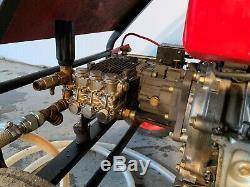 Honda GX240 Petrol Pressure Washer Interpump Pump 200BAR 13LPM £695 + VAT