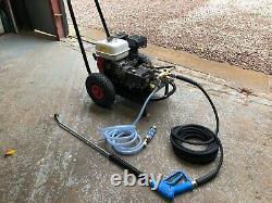 Honda pressure washer jet wash petrol gx200 w154 inter pump 150bar 2200psi