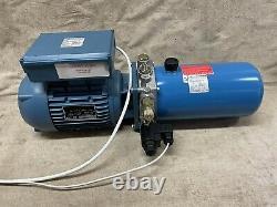 Hydraulic pump Power Pack 0.55kw 150bar 1-phase 240v