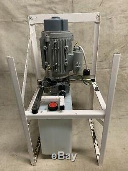 Hydraulic pump Power Pack 0.55kw 70bar 1-phase 240v
