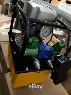 Hydraulikpumpe Elektrisch Doppeltwirkend Magnetventil 700 Bar B630BI