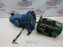 Hydrovane Model 0009-0014 2700RPM 11 Bar with Motor. Pump Needs Repair