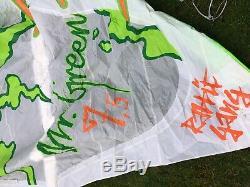 Kitesurfing Kite Waimann 7.5m + Bar + Bag + Pump