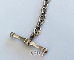 Ladies Vintage Solid 9ct Gold T Bar And Heart Bracelet