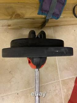 Les Mills Body Pump Bar And 2x 10kg Weights 2x 5kg