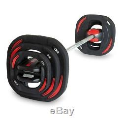 Les Mills Body Pump Barbell And Weights Smart Bar Set
