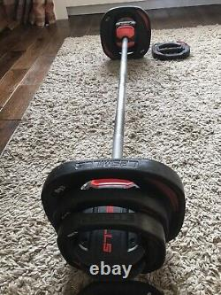 Les Mills Body Pump Smart Bar and Weights