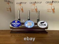 Low Line Plinth 3 Way Bar Font Beer Pump Home Bar Font / Man Cave