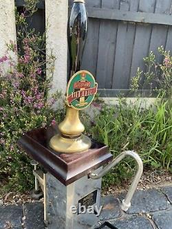 Man Cave Bar Shed Classic Rare Masons Beer Engine Single Brass Beer Pump Derby