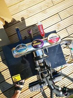 Man Cave, Garden Pub Home Bar. Bar Draft Beer Set Up Beer Cooler Pump Full Kit