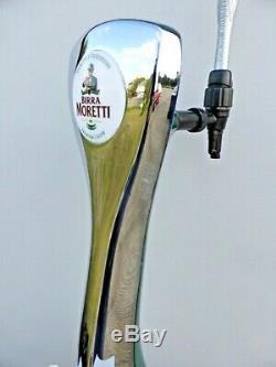 Moretti Birra Beer Pump Bar To Beer Tap