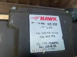 Nixon Pressure Washer Jet Washer Kohler 6HP Engine Hawk Pump 2000 psi 140 Bar
