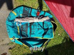 North Rebel 2015 12m kite with bar and pump