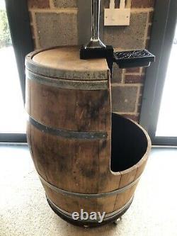 Oak Barrel Bar, Mancave, Beer Pump