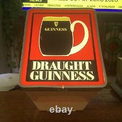 Original 1970s Guinness Pub Pump Font Rare VTG Retro Bar Man Cave Sign Display