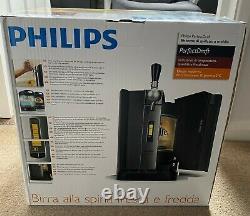 Philips Perfect Draft Home Beer Machine HD3720 Budweiser keg bar warranty colect