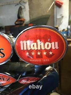 Porta Chameleon 3 Tap Beer Font Pump Illuminating For Man Cave/home Bar/shed Pub
