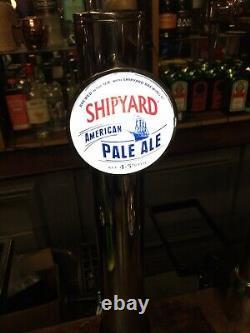 Porta Ikon Chrome Font / ShipYard Pale Ale, Home Bar, Man Cave