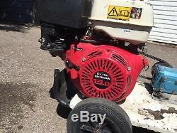 Pressure washer Honda Gx390 Drain Jeter Jet Wash Cat Pump 16.3 LPM 220bar