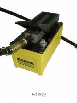 Pressured air driven hydraulic pump, 2 liter, 700 Bar ##