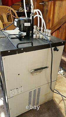 Remote Beer Cooler ECO 6 Line with flojet recirculating pump, man cave, bar