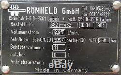 Römheld 11 L 250 bar 2,5 L/min. Roemheld Hydraulikaggregat Hydraulikpumpe