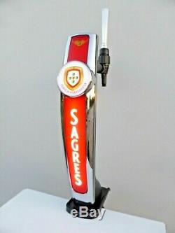 Sagres Beer Pump Bar Top Sagres Lager Pump
