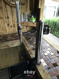 San Miguel Pump Full Set Up Outside Bar Man Cave Mobile Bar Garden Shed