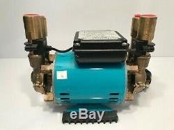 ShowerForce SF 3 Bar Heavy Duty 3.0 Bar Twin Brass Positive Shower Pump
