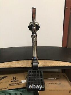 Single Porta Chrome Cider, Lager, Bitter, Beer Pump/Font, Home Bar, Mancave
