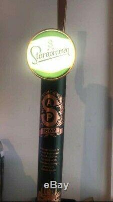 Staropramen beer pump MANCAVE home bar rare